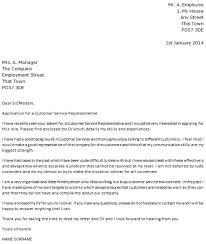 cover letter for customer service sample pingi cover letter