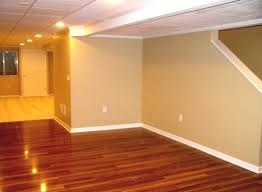 Painting Basement Floor Ideas by Interior Finished Basement Floor Throughout Awesome Basement