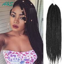 box braids hairstyle human hair or synthtic 65 box braids hairstyles for black women box braids styling