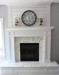 Porcelain Tile Fireplace Ideas by Best 25 Tile Around Fireplace Ideas On Pinterest Tiled