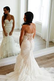 strapless wedding gowns best 25 strapless mermaid wedding dresses ideas on