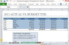 general ledger template general ledger template and free download