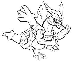 pokemon coloring pages gallade black kyurem coloring pages