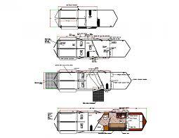 Horse Stall Floor Plans Gooseneck 2 Horse Straight Load Trailers