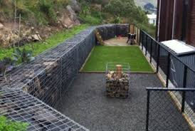 marvellous garden retaining wall design ideas patio wooden fence