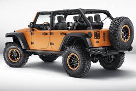 mopar jeep renegade three mopar jeep models are displayed at the frankfurt motorshow