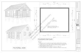 1 5 Car Garage Plans G448 24 X 20 X 8 Garage Plans Blueprints Page 3 Sds Plans