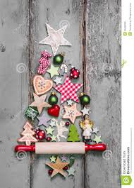 christmas tree decoration in shabby chic style an idea for a