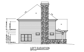 craftsman bungalow style house plan with garage