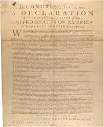 thanksgiving proclamation 1789 dunlap broadside declaration of independence
