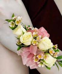 White Rose Wrist Corsage Corsages U0026 Boutonnieres Wrist Corsages Willoughby Oh