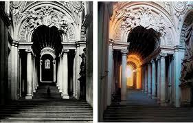 scala le quote al layout scala regia bernini 1663 1666 arhitektura od renesanse do