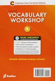vocabulary workshop enriched edition student edition level d