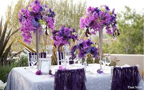 purple wedding centerpieces purple wedding centerpieces 2014 for winter weddings003 stylehitz