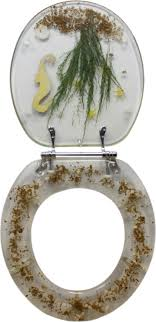 themed toilet seats decorative toilet seat seahorse design standard potty