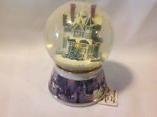 musical snow globes ebay