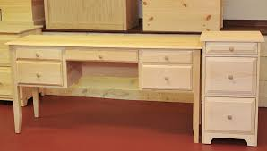 rustic pine writing desk writing desk and file cabinet