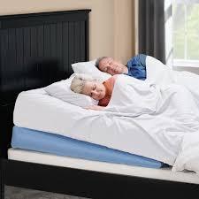 the adjustable incline bed wedge hammacher schlemmer