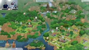 World Map Game The Sims 4 Jungle Adventure Selvadorada World Map Sims Community