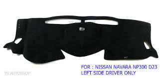 For Nissan Navara Np300 Left Driver D23 2016 Black Dash Mat