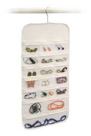 Hanging Closet Shelves by Jewelry Hanging Organizer U2013 Clear The Clutter Organize Your