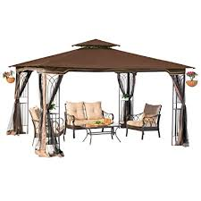 gazebo mosquito netting sunjoy l gz043pst 3 regency ii gazebo with mosquito