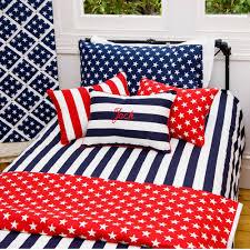 navy stars and stripes duvet dooner quilt cover and pillow set