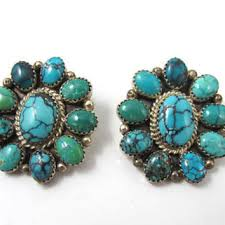 turquoise earrings studs large turquoise earrings studs basement wall studs
