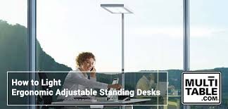 Ergonomic Standing Desks Lighting Ergonomic Standing Desks Multitable