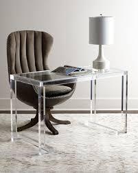 Clear Acrylic Desk Table Dana Acrylic Writing Desk Lucite Table Writing Desk And Desks