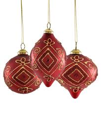 and gold teardrop ornaments tree classics