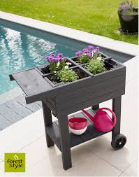 Planters On Wheels by The Best Small Space Planters For Growing Your Own Food