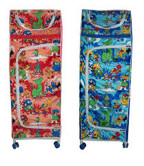 Baby Wardrobe Organiser Multipurpose Baby Kids Child Almirah Folding Wardrobe Organizer