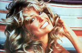 farrah fawcett hair color behind the picture of farrah fawcett that made her an icon time