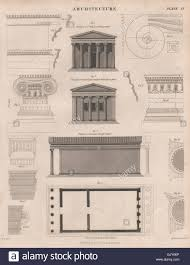 100 greek temple floor plan classic greek revival with fly