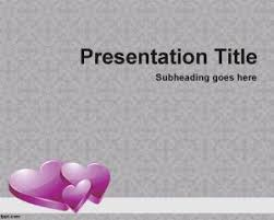 love hearts and couples powerpoint templates