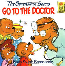 berenstein bears books the berenstain bears go to the doctor time books stan