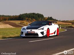 lexus lfa vs bmw i8 lexus lfa ad x 21 october 2012 autogespot