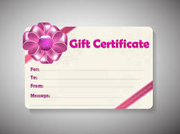 5 best images of free printable editable gift certificate template