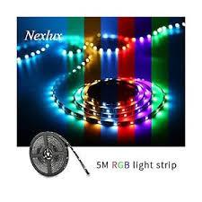 nexlux led light strip 16 4ft led light strip nexlux waterproof 5050 smd single rgb led