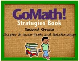 go math grade 2 chapter 3 basic facts and relationships