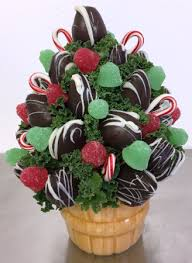 edible bouquet o christmas tree edible bouquet in springfield il flowers by