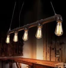 Edison Ceiling Light Industrial Vintage Retro Metal Loft Pipe Lamp Edison Ceiling
