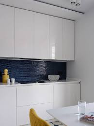 white kitchen cabinets with blue tiles 75 blue backsplash ideas navy aqua royal or coastal