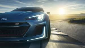subaru concept cars subaru brz sti race tracks car vehicle evening closeup