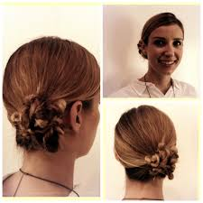 bridal party hair how to twisty ropey bun stylenoted