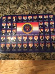 the presidents of the united states placemat u2022 5 50 picclick