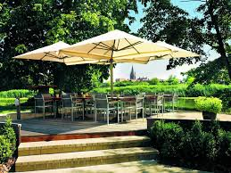 Large Patio Umbrellas Modern Large Outdoor Umbrella Landscaping Backyards Ideas