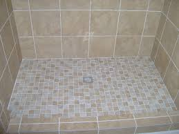 How To Tile A Bathroom Shower Floor Awesome Tiled Shower Floors Pictures With 2x2 Porcelain Tile
