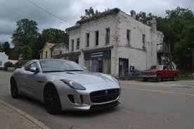 2015 jaguar f type s coupe showing its miles